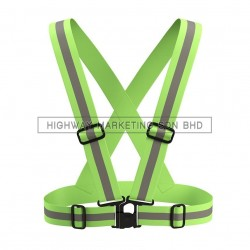 Hi-Safe HK-SFTY-BELT Safety High Visibility Reflective Vest Waistcoat