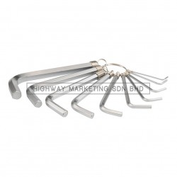 Yato YT-0504 1.5-10mm Hex Key Set of 10pcs