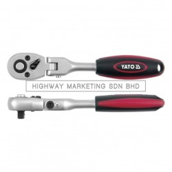 """Yato YT-0327 1/2"""" Quick Release Articulated Ratchet Handle"""