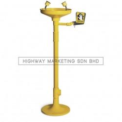 Proguard PG 5060 Pedestal Mounted Eyewash with ABS Bowl - 1