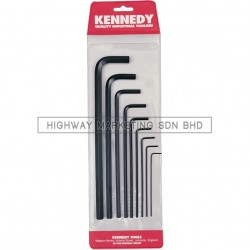 Kennedy KEN6015970K 1.5-10mm Long Arm hexagon Wrench Set of 9pcs - 1