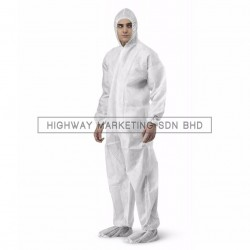 Hi-Safe Economic Disposable Coverall Size: M-3XL - 1