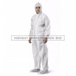 Hi-Safe Economic Disposable Coverall Size: M-3XL - 1