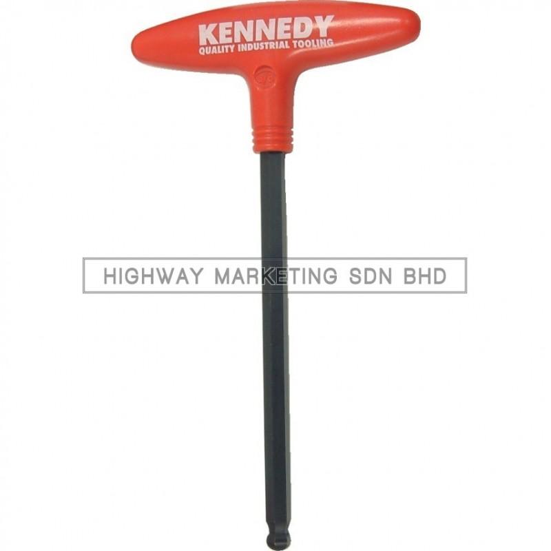 Kennedy T-Handle Hexagon Ball Driver 2.5-10mm - 1