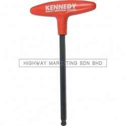 "Kennedy Hexagon T-Handle Ball Driver 3/32""-3/8"" - 1"