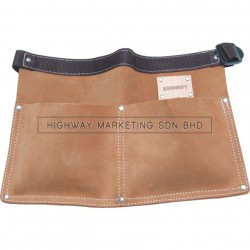 Kennedy KEN5933240K Tan Leather Nail Pouches 2-Pocket