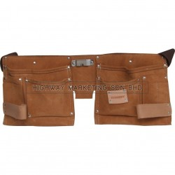 Kennedy 10-Pocket 2-Loop Small Toll & Nail Pouch
