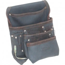 Kennedy 4-Pocket 2-Loop Large Tool Pouch Oil Tan - 1