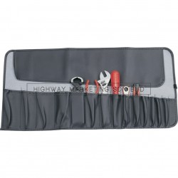 Kennedy 15 Pleated Pocket Tool Roll - 1