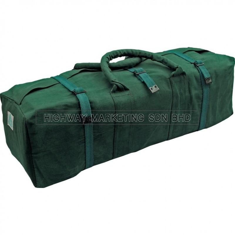 "Kennedy KEN5930080K 30"" Water Resistant Green Canvas Tool Bag - 1"