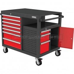 """Kennedy KEN5946800K 45"""" 10 Drawer Mobile Workstation"""