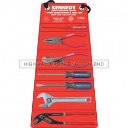 Kennedy KEN5950070K Maintenance Tool Roll Kit 7pcs