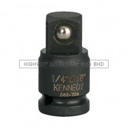 "Kennedy KEN5837400K 1/4"" Male x 3/8"" Female Impact Reducer"