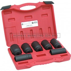 Kennedy KEN5839888K Front Wheel Drive Axle Nut Socket Set of 7