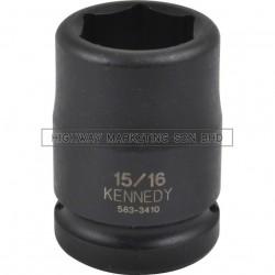 "Kennedy 3/4"" SQ DR 6pt Inch Standard Length Impact Socket"