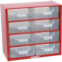 Kennedy KEN5935100K 8 Drawers Small Parts Storage Cabinet