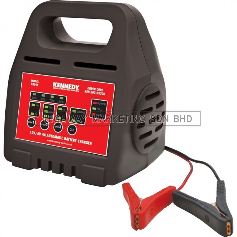 Kennedy KEN5030320K 6V/12V 4A Automatic Battery Chargers