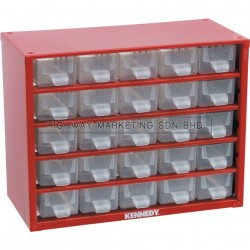 Kennedy KEN5935120K 25 Drawers Small Parts Storage Cabinet