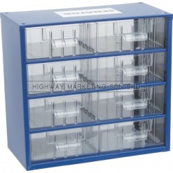 Senator SEN5935100K 8 Drawer Small Parts Storage Cabinet