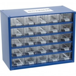 Senator SEN5935120K 25 Drawers Small Parts Storage Cabinet