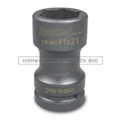 "Dynatool DYN-10-6841 1"" SQ DR 41x21mm Combination Budd Wheel Socket"