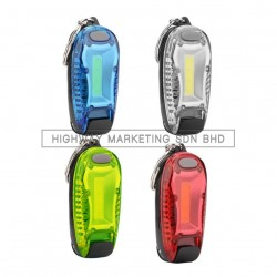 Hi-Safe LED Blinker with Clip COB Backpack Lamp
