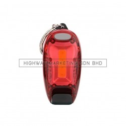 Hi-Safe HSF-40-2045-RED LED Blinker with Clip COB Backpack Lamp