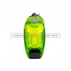 Hi-Safe HSF-40-2045-GREEN LED Blinker with Clip COB Backpack Lamp