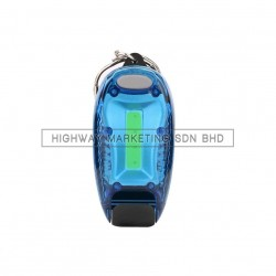 Hi-Safe HSF-40-2045-BLUE LED Blinker with Clip COB Backpack Lamp