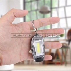 Hi-Safe HSF-40-2045-WHITE LED Blinker with Clip COB Backpack Lamp