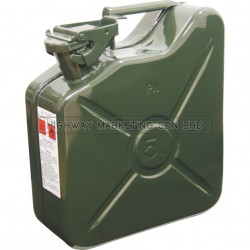 Kennedy KEN5039270K 5ltr Heavy Duty Steel Jerry Cans (Green)
