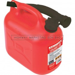 Kennedy KEN5039010K 5ltr Red Leaded Fuel Containers