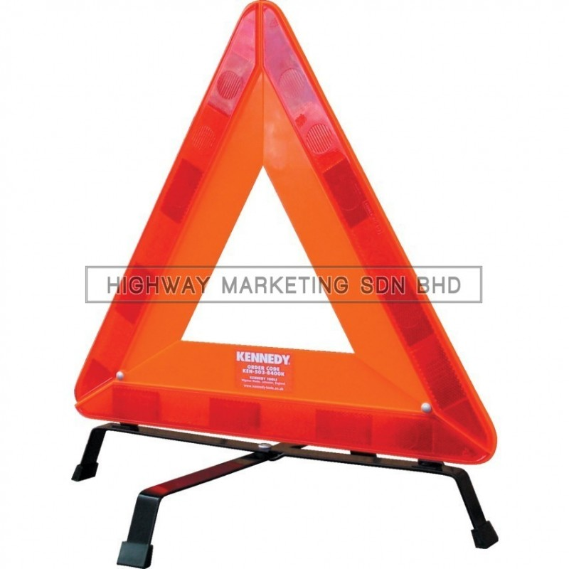 Kennedy KEN5038400K Fluorescent Warning Triangle