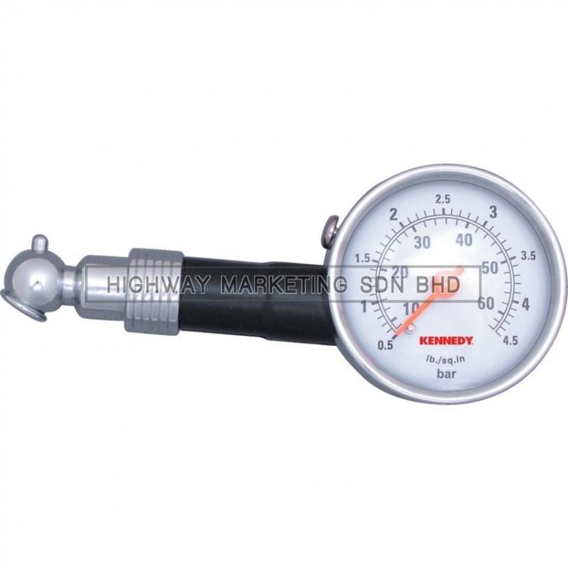 Kennedy KEN5038440K Dial Type Tyre Pressure Gauge