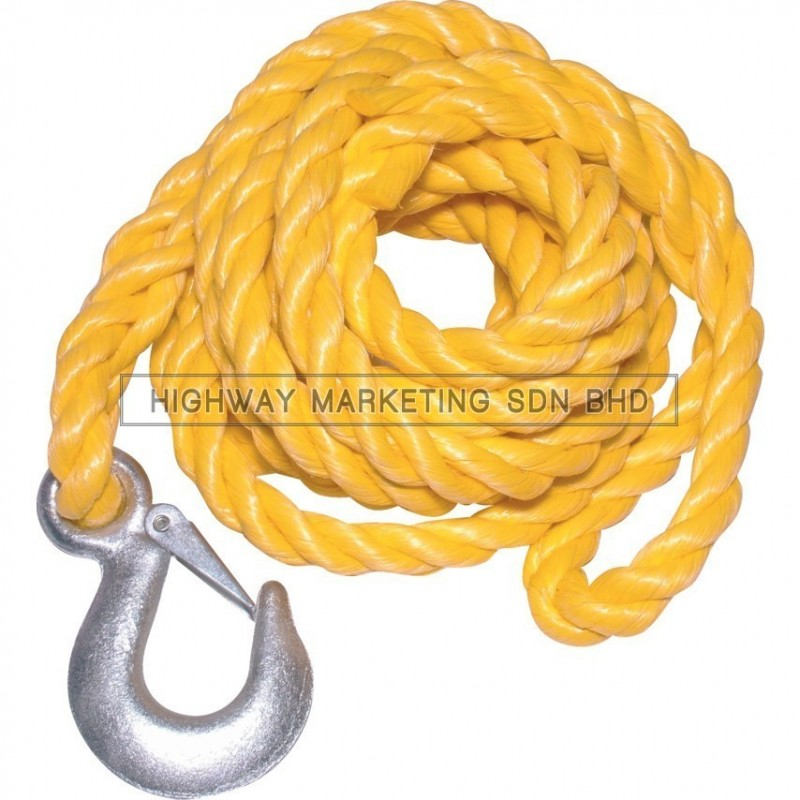 Kennedy KEN5038220K 2000kg Polypropylene Tow Rope