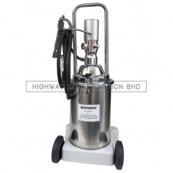 Daypower DYP-20-0471 Pneumatic Grease Pump Stainless Steel Tank