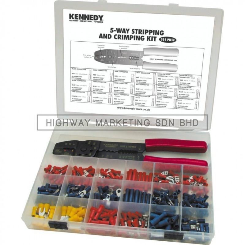Kennedy KEN5155530K 5 Way Stripping & Crimping Kit