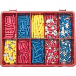 Kennedy KEN5155610K Terminals/Spades/Bullets Red/Blue/Yellow Kit 300pcs