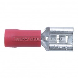 Kennedy KEN5153000K Red Push-on Female Connector Terminals