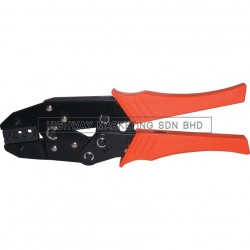 Kennedy KEN5155400K Uninsulated Terminal Ratchet Crimping Plier