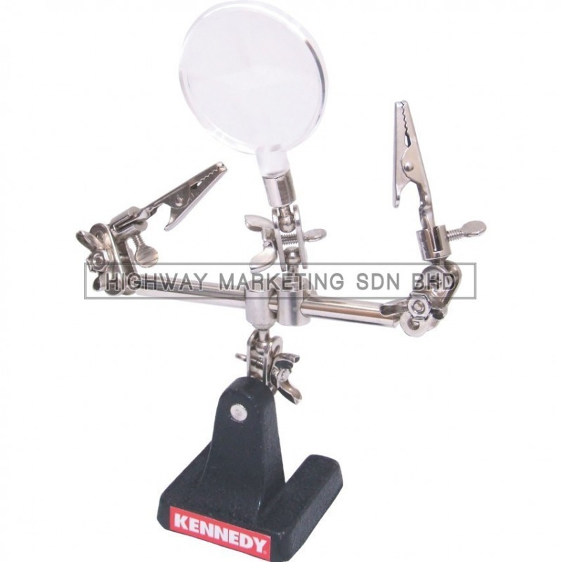 Kennedy KEN5161800K Helping Hand Clamp & Magnifier
