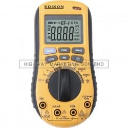 Edison EDI5163100K Auto Range Digital Multimeter 1000V DC 750V AC