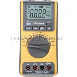 Edison EDI5163460K 5 in 1 Multimeter & Environment Tester
