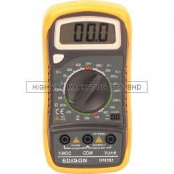 Edison EDI5162900K Digital Multimeter