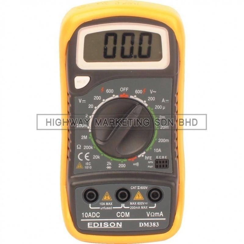Edison EDI5162900K Digital Multimeter
