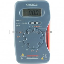 Edison EDI5162600K Pocket Digital Multimeter
