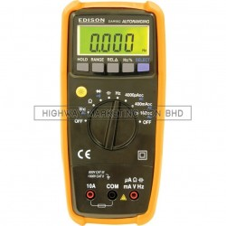 Edison EDI5163400K Auto Ranging Multimeter