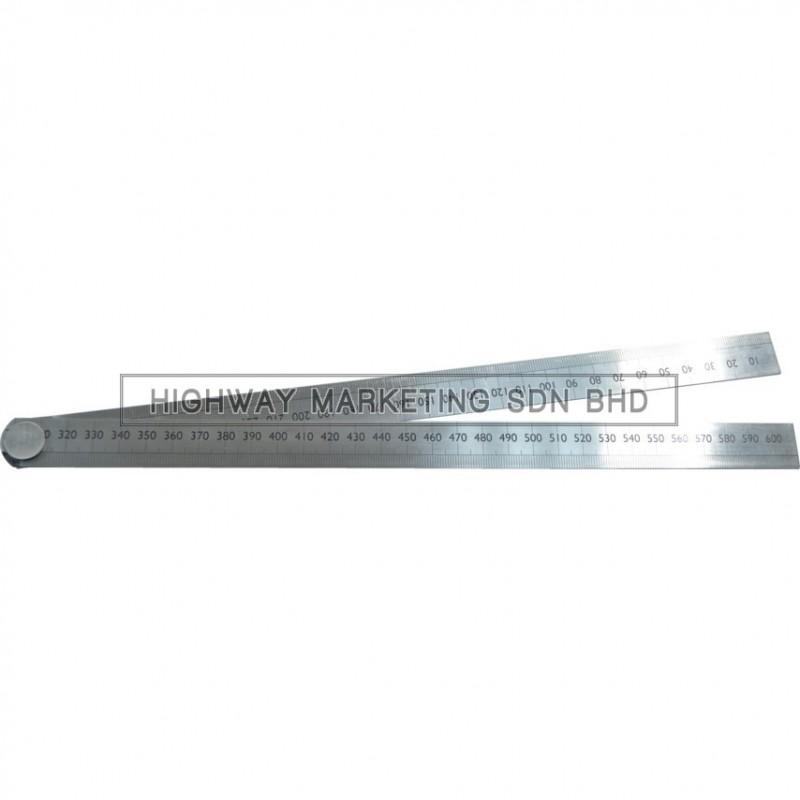 Kennedy KEN5182950K 600mm Folding Steel Rule