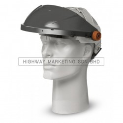 Proguard VH-1 BLK Economic Visor Holder Black