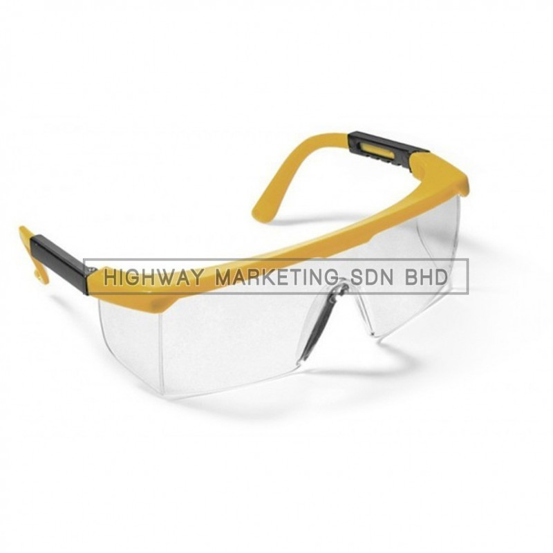 Proguard ES-46YC Yellow Frame Clear Lens Safety Eyewear